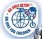 Na kole dětem - logo akce